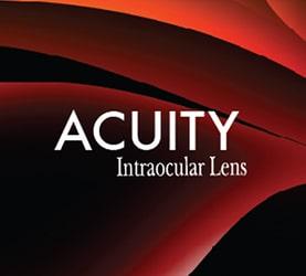 Acuity Intraocular lens